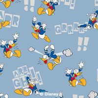 Donald Pattern  - Disney Donald Duck