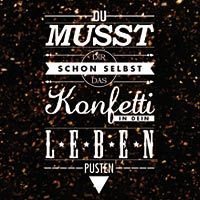 Konfetti Leben - VISUAL STATEMENTS