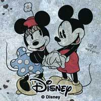 Mickey&Minnie In Love - Disney Mickey Mouse